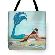 Mermaids Exist Tote Bag