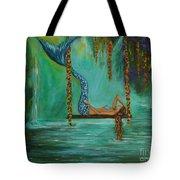 Mermaids Relaxing Evening Tote Bag