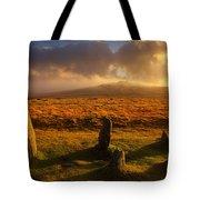 Merrivale Stone Rows Tote Bag