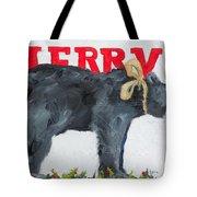 Merry Bear Tote Bag
