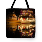 Merry Christmas Bandon By The Sea 1 Tote Bag