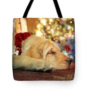 Merry Christmas From Lily Tote Bag