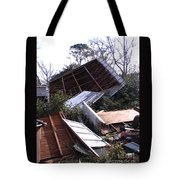 Merry Christmas From Mother Nature - I'm A Tornado Tote Bag