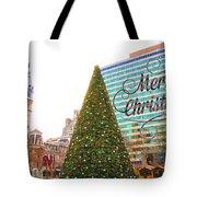 Merry Christmas From Philadelphia Tote Bag