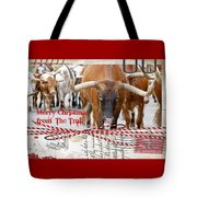 Merry Christmas From The Trail Tote Bag