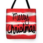 Merry Christmas- Greeting Card Tote Bag