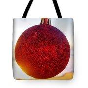Merry Christmas Ornament Sunrise 11 12/17 Tote Bag