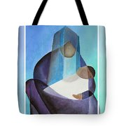 Merry Christmas Virgin Mary And Child  Tote Bag