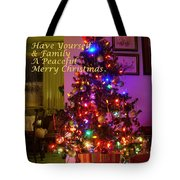 Merry Christmas Wish Tote Bag