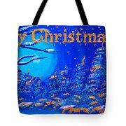 Merry Christmas Wish V2 Tote Bag
