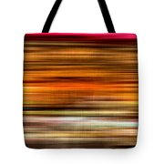 Merry Go Round Abstract Tote Bag