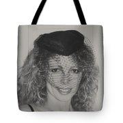 Beautiful Blue Eyed Belinda Tote Bag