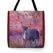 Merry Xmas And Happy New Year Tote Bag