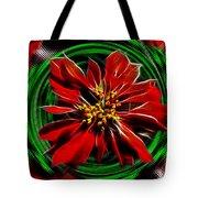 Merry Xtmas - Poinsettia Tote Bag