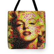 Marilyn - Colored Diamonds Tote Bag