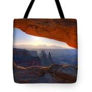 Mesa Arch Canyonlands National Park Tote Bag
