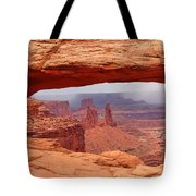 Mesa Arch In Canyonlands National Park Tote Bag