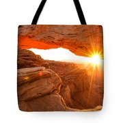 Mesa Arch Sunrise Tote Bag