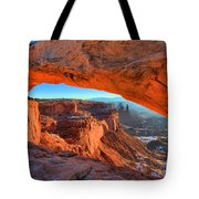 Mesa Sunrise Glow Tote Bag