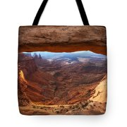 Mesa Sunrise Window Tote Bag
