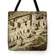 Mesa Verde National Park In Colorado Tote Bag