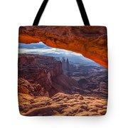 Mesa's View Tote Bag by Darren  White