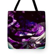 Mesmerize Purple Tote Bag