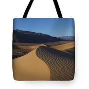 Mesquite Dunes Death Valley 1 Tote Bag