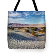 Mesquite Flat Dunes Tote Bag