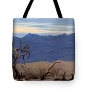 Mesquite Flat Sand Dunes Stovepipe Wells Death Valley Tote Bag