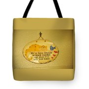 Message Of Love Tote Bag