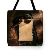 Message Waiting Tote Bag