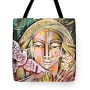 Messenger Of Peace And Possibility Tote Bag
