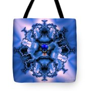 Messing With Mandelbrot  Tote Bag
