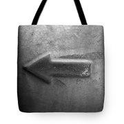 Metal Arrow Tote Bag