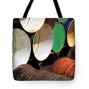 Metal Barrels 1 Tote Bag