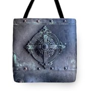 Metal Door Tote Bag