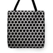 Metal Grill Dot Pattern Tote Bag