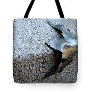 Metal Leaf Tote Bag