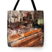 Metal Machine Shop Tote Bag