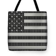 Metal Mesh Usa Flag Tote Bag