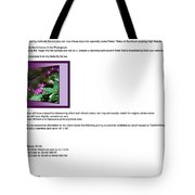 Metal Pictures Read Me Tote Bag