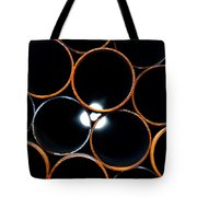 Metal Pipes Tote Bag