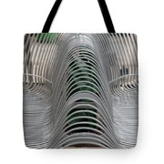 Metal Strips Tote Bag