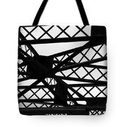 Metal Structure Tote Bag