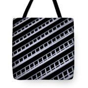 Metal Texture Oblique Tote Bag