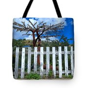Metal Art Tree Bisbee Tote Bag