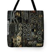 Metal Work Tote Bag
