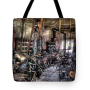 Metal Worker - Belts And Pullies Tote Bag