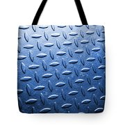 Metallic Floor Tote Bag